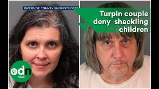 David and Louise Turpin have pled 'not guilty' to torturing their 1...
