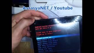 Hometech Tablet  Format atma l  Factory Reset l Desen Kilidi Açma