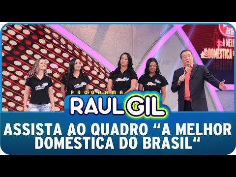 Raul Gil quer saber quem é ´A Melhor Doméstica Do Brasil´
