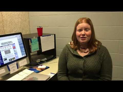 Student coordinator Anne Matte