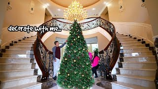 decorating my house for Christmas