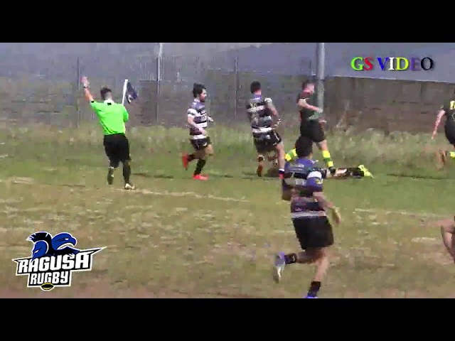 Highlight Promozione B 2018/2019: Ragusa Rugby vs CUS Cosenza 78 - 0