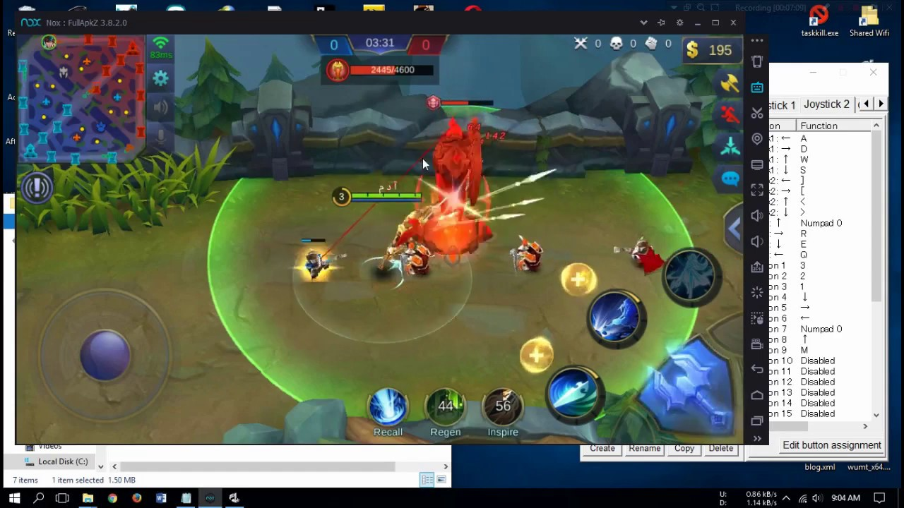 how to play mobile legends with joystick on pc windows 10 8 7
