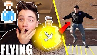 (Insane) Ordering FLYING Potion from the Dark Web at 3AM (It Actually Worked)