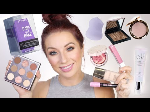 Testing NEW PRODUCTS | Maybelline, Makeup Geek In the Nude, Laura Mercier and more!