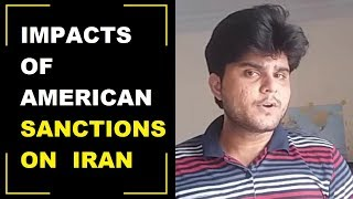 IMPACTS OF AMERICAN SANCTIONS ON IRAN