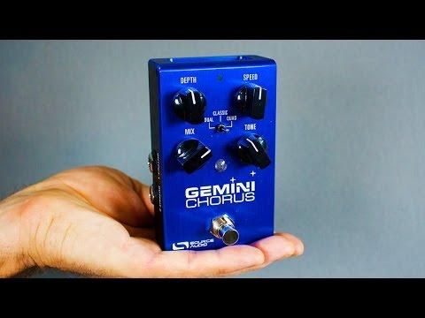 Ambient Guitar Gear Review - Source Audio Gemini Stereo Chorus