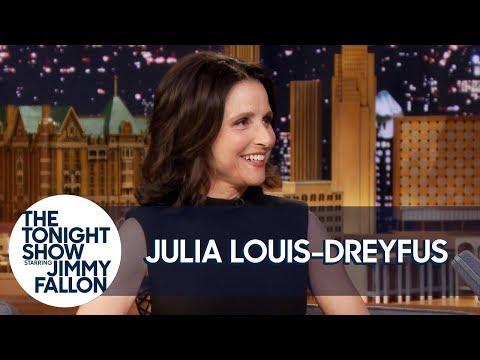 Julia Louis-Dreyfus Shares Exclusive Veep Bloopers of Her and Tony Hale