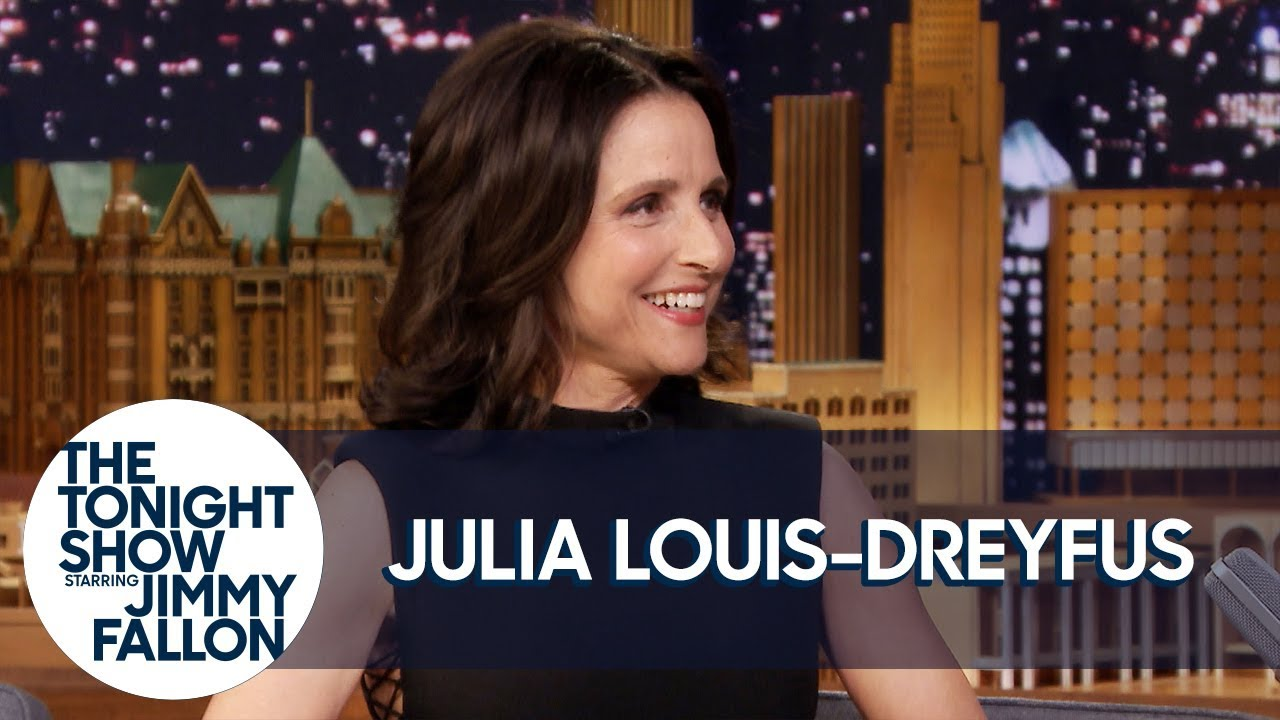 Julia Louis-Dreyfus Shares Exclusive Veep Bloopers of Her and Tony Hale