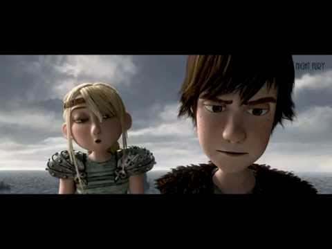 【Hiccup x Toothless】 Flares in the sky