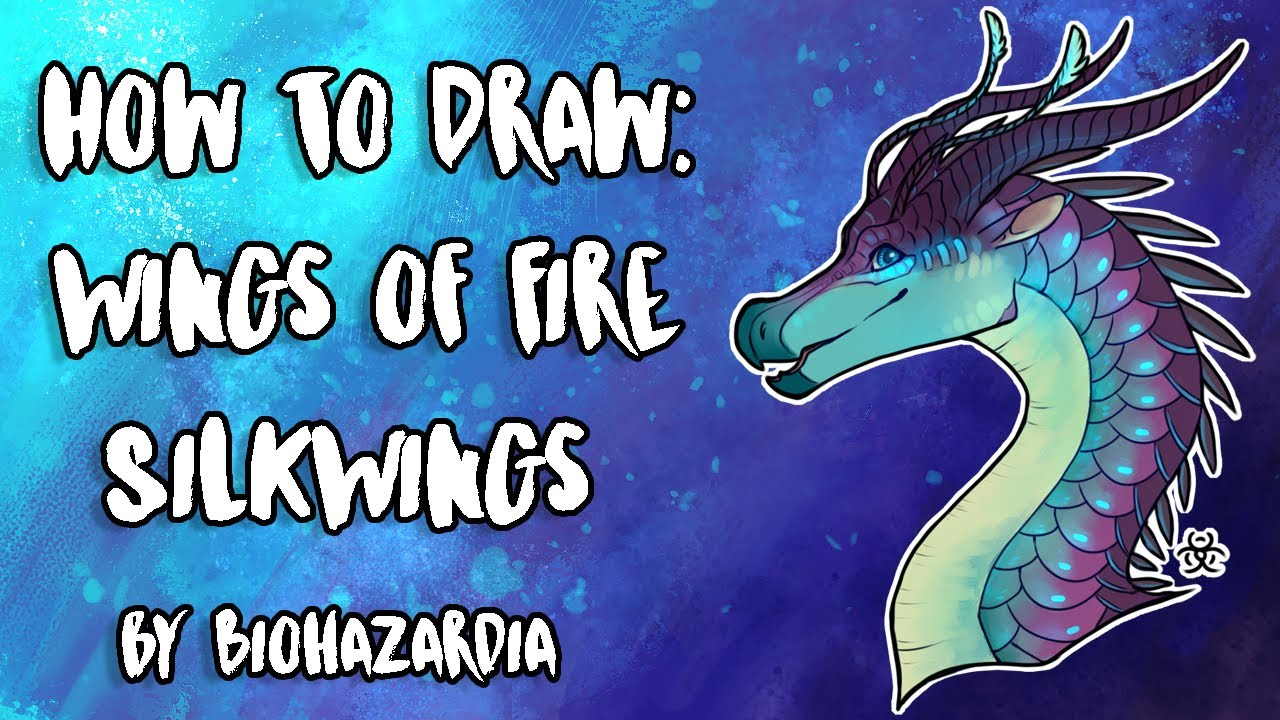 How To Draw Silkwing Wings Of Fire Featuring Blue By Biohazardia Youtube