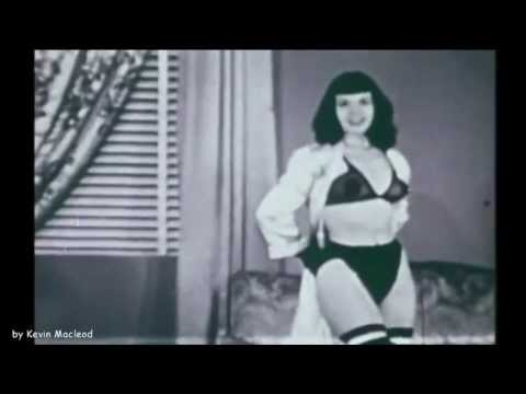 "Betty Page ""Waltzing in Satin Scanties"""