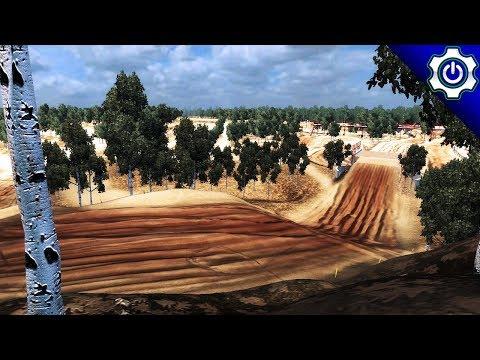 MX vs ATV Reflex - Komsomolsk-on-Amur - Replica Track Gameplay