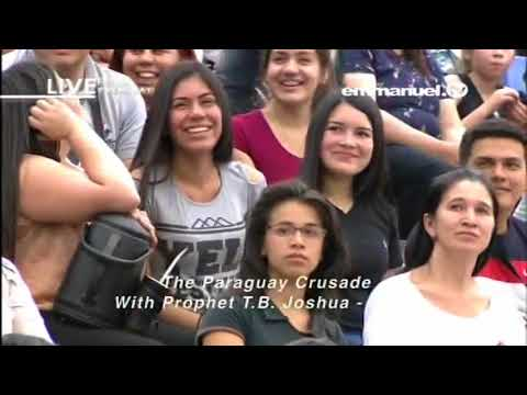 PROPHET TB JOSHUA CRUSADE IN PARAGUAY 11 08 2017 VIDEO 1