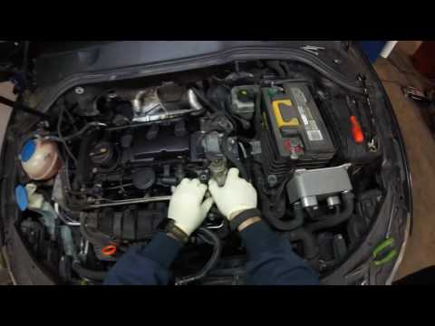 VW FSI QUICK CHECK WHEN YOU HAVE LOW RAIL PRESSURE FAULT p310B