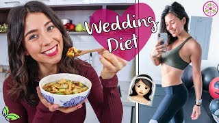 WHAT I EAT IN A DAY - WEDDING DIET