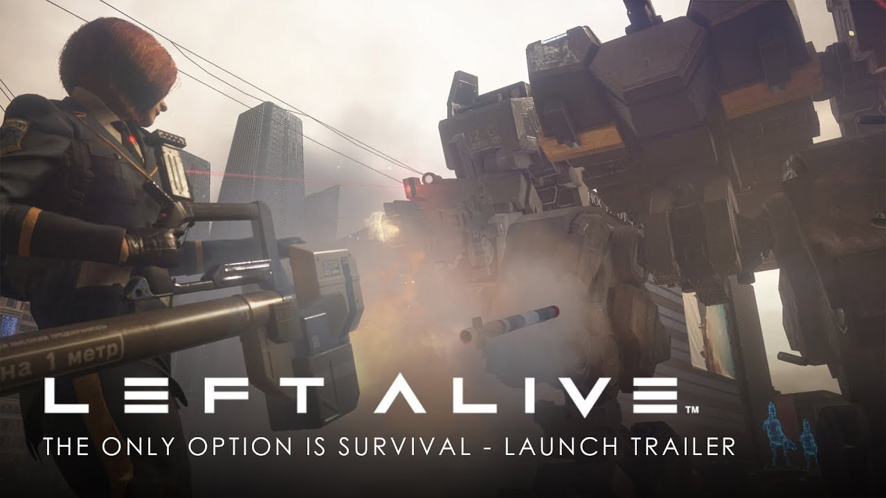 LEFT ALIVE | The Only Option is Survival – Launch Trailer