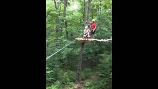 Tree Top Trekking in Huntsville- Ziplining with me!