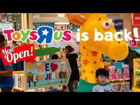 TOYS R US Is Back! Grand Opening 2019 In New Jersey Garden State Mall | ToysRUs Reopening Comeback