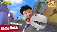 Vir The Robot Boy Horse Race NEW EPISODES