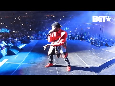 "Meek Mill Goes Ham Performing ""Monster Song"" (Explicit)"