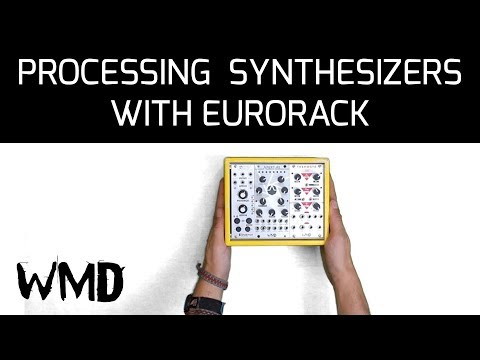 How to process hardware synthesizers with a tiny eurorack system Mp3