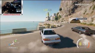 Forza Horizon 2 Online Drifting S13 Twin Turbo w/The Crew   SLAPTrain