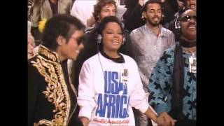 Download USA For Africa - We Are The World [30th Anniversary] [HD with Names] Mp3 and Videos