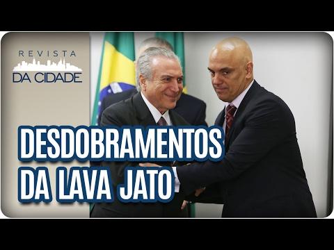 Fatos da Semana: Desdobramentos da Operação Lava Jato - Revista da Cidade (07/02/2017)