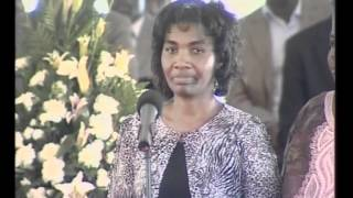 MARY OJODE SPEECH.