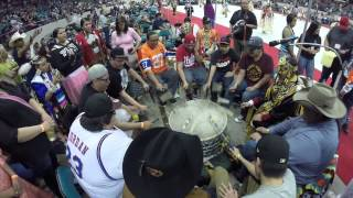 YOUNG BEAR SINGERS MARCH POW WOW 2015