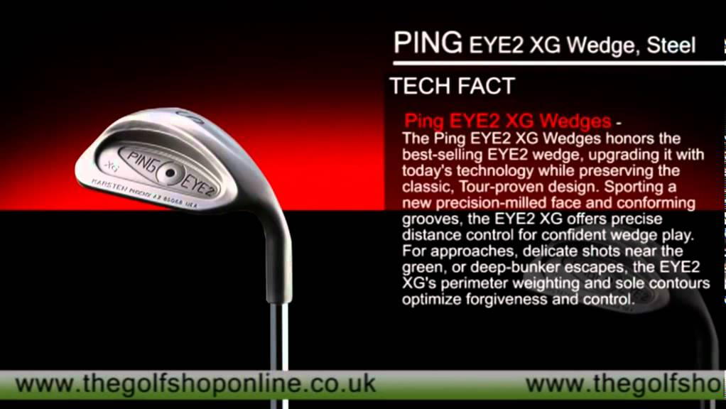 f6f44c9ac4cd PING EYE2 XG Wedge - YouTube