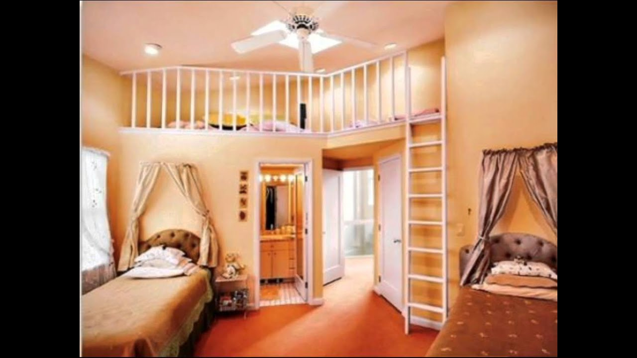 Cool Bedrooms For 2 Teenage Girls Cool Rooms For Girls Youtube