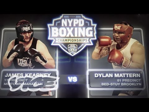 How New York Cops Squash Their Beef: NYPD Underground Boxing Matches
