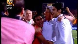 هدف أبو تريكة مباراة مصر و رواندا تصفيات كأس العالم 2010 بتعليق مدحت شلبى