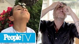 Kids Ask Blake Shelton Adorable Questions: What's His Favorite Gwen Stefani Song & More | PeopleTV