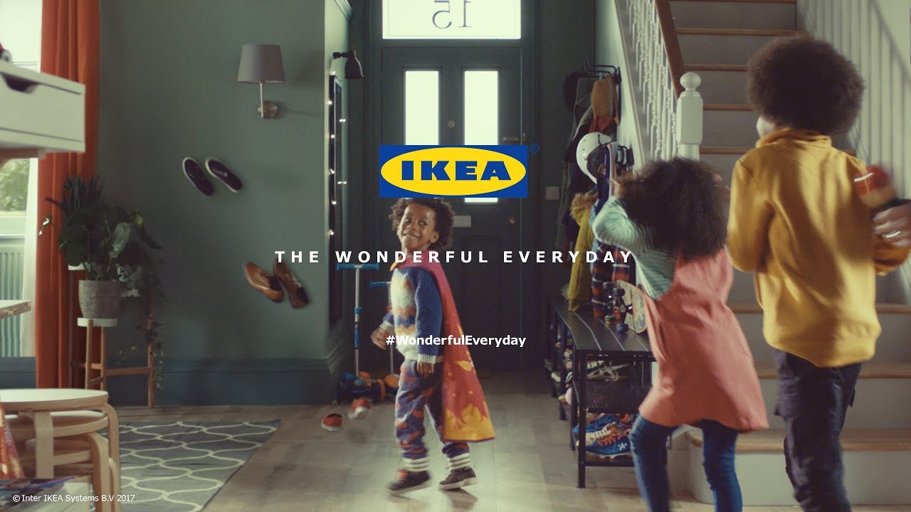 At last, an ad that makes my family feel good to be black and British. Thanks Ikea | Michelle De Leon