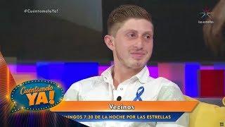 ¡Octavio Ocaña nos habla de su regreso a Vecinos! | Cuéntamelo YA!