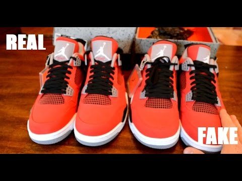 air jordan 4 toro bravo real vs fake