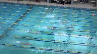 女子甲組 50米自由泳決賽