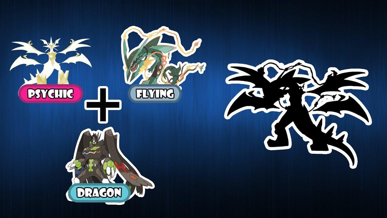 Pokemon Fusion Requests 171 Ultra Necrozma Mega Rayquaza Zygarde Complete Form Youtube