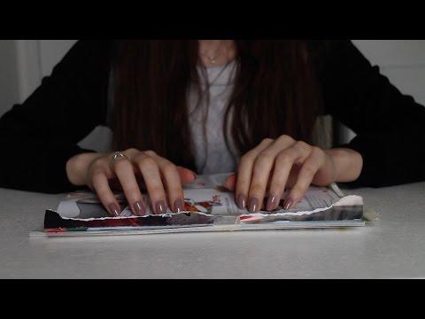 ASMR Paper Sounds | Tearing, Page Turning, Cutting, Sorting (No Talking)