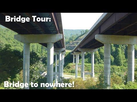 Bridge Tour: Unused Christine West Bridge In Bluefield, WV
