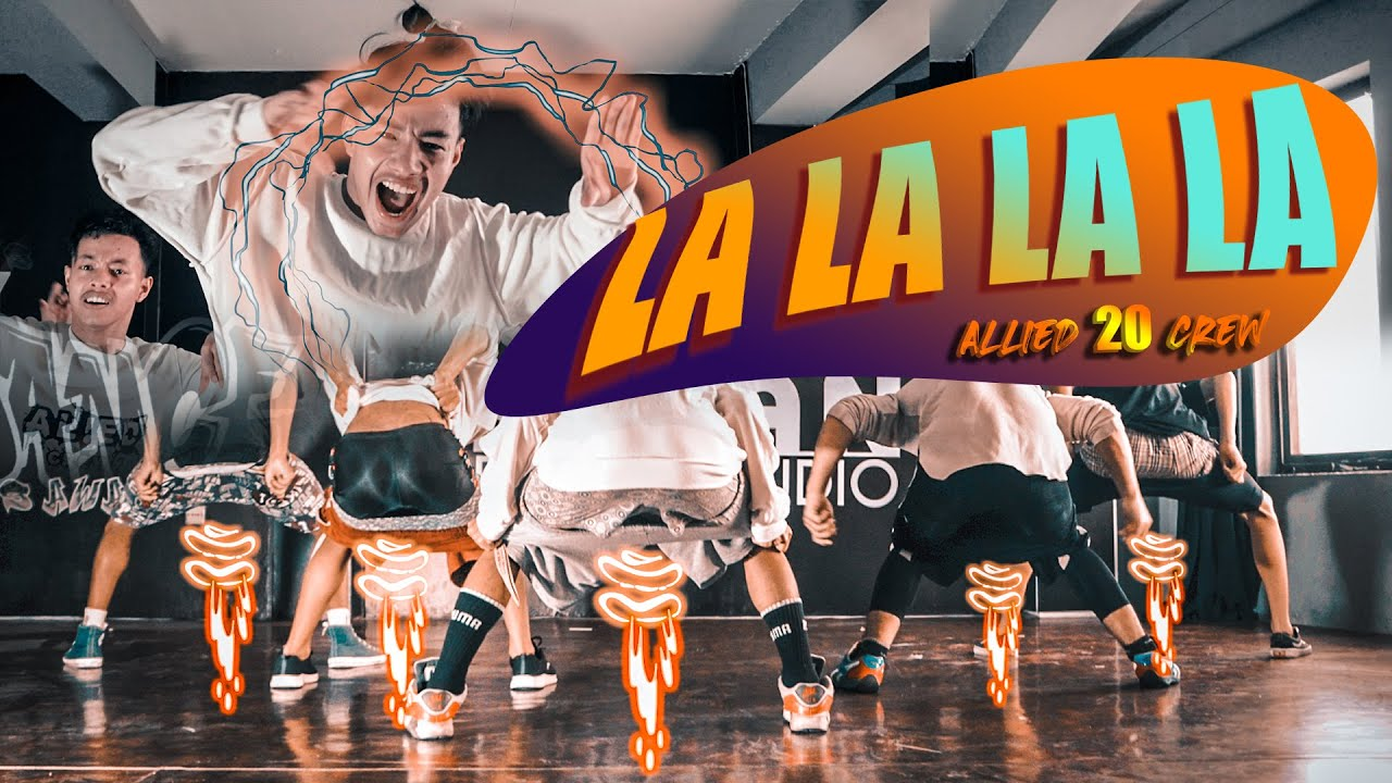 BLUESSS-LA LA LA(REMIX) FT. LIL BUDDHA & VTEN|ALLIED20 CREW| DANCE CHOREOGRAPHY | SUJAN MARPA TAMANG