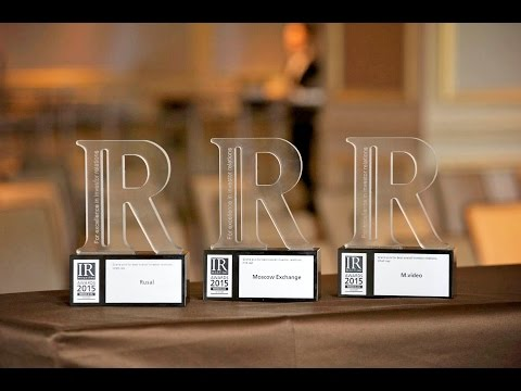 IR magazine Russia & CIS Awards Ceremony - 2015