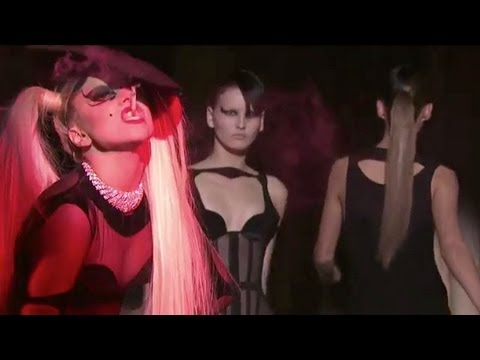 "MUGLER FW 2011 Women's Fashion Film with Lady Gaga & Nicola Formichetti. Music ""Government Hooker"""