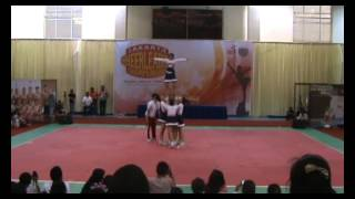 BLITZER JCC 2012 Runner Up Kategori Group Stunt All Girl