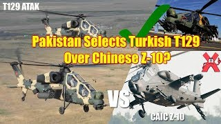 Pakistan chooses Turkish T129 attack helos to replace aging fleet
