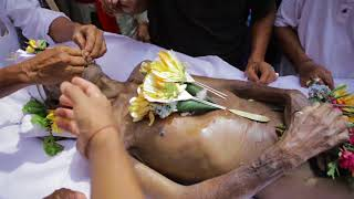 Pelebon I Gusti Putu Seraya - Jero Dangin Pasar Tabanan Bali.