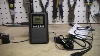 Whole House 3.0 Part 15 FM Transmitter Review